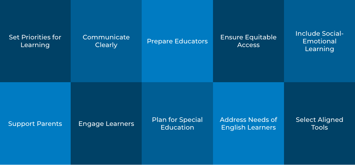 Familiarizing Educators with the Building Blocks of Equitable Remote Learning